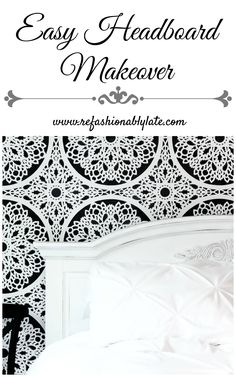 Easy Headboard Makeo