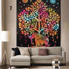 Toile Murale Mandala Elephant Edition Limitee Deco Pinterest