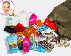 Christina Applegate empties out her purse for Us. What's In My Purse, Whats In Your Purse, What In My Bag, What's In Your Bag, H&m Bags, Purses And Bags, Canvas Book Bag, What's In My Backpack, Diaper Bag Purse