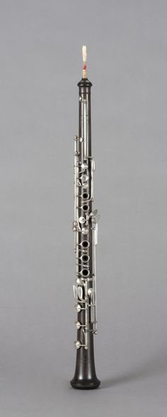 Boehm system oboe (Sax, late 19th c.)