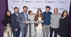 Cast members and creatives of HBO's #Girls at PaleyFest LA 2015. #PaleyFest #YahooLive