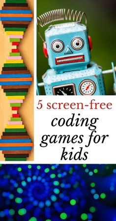 5 best offline coding games for kids that teach programming skills, logic, planing and critical thinking techniques needed for learning how to code. Rainy Day Activities For Kids, Steam Activities, Preschool Learning Activities, Kindergarten Lessons, Games For Kids, Fun Activities, Teaching Ideas, Teaching Programs, Learn Programming