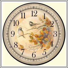 Bagatelki: zegary do wydruku