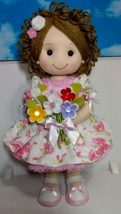 1 million+ Stunning Free Images to Use Anywhere Crochet Doll Clothes, Sewing Dolls, Crochet Dolls, Doll Crafts, Diy Doll, Pretty Dolls, Beautiful Dolls, My Child Doll, Homemade Dolls