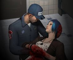 Life is Strange - David Madsen and Chloe Price | Blood Ties by KhemiKyle