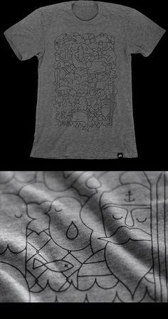 "Emil Kozak ""Double Trouble"" tshirt. $35"