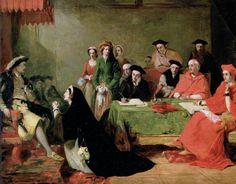 Суд над Екатериной Арагонской