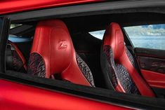 The 'Z' Zagato logo features heavily in the cockpit of the new Aston Martin to be produced...