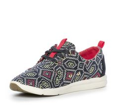 Nilson Shoes Sneakers TOMS, DEL REY Textil Flerfärgat