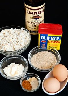 Crabcake Recipe - this was excellent! My first time making crabcakes and definitely a success. Billy's Seafood Market on Colington has lots of crab - cook it in your gourmet kitchen at First Flight Retreat Condos - OBX