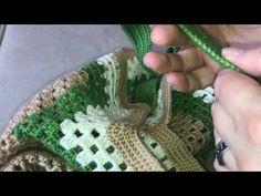 Tığ işi yazlık çanta yapımı - Hanım ördü bey beğendi modeli - YouTube