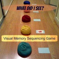 Visual Memory Sequencing Games | #kidsmoveandtalk