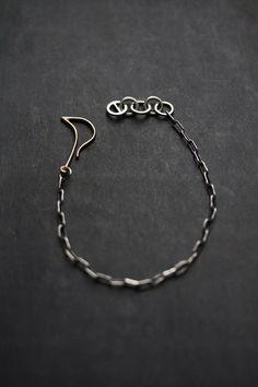 SWAN NECK bracelet by Miki Tanaka