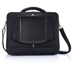 The laptop bag which offers a maximum protection, using strong materials and a padded pocket for your laptop. To carry your valuables, carry it as a briefcase with the soft padded grip, or alternatively around your shoulder, using the adjustable and padded shoulder band.
