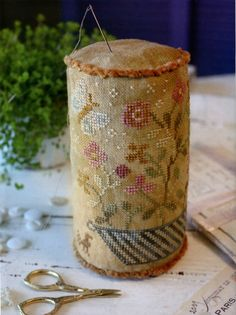 Summer in Bloom pinkeep from Maria Selby Humphrey by Blackbird Designs