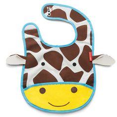 """Verstaubares Lätzchen """"Giraffe"""""""