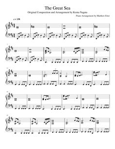 Sheet music made by matthew_etter for Grand Piano