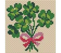 Need a little luck? Stitch these St. Patrick's Day cross stitch patterns.: A Little Luck