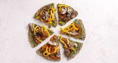 Πίτσα με πέστο από σπανάκι και λαχανικά από τον Άκη Πετρετζίκη. Μια ιδανική pizza για vegans και για  vegetarians. Ιδανική πίτσα για τη νηστεία και τη σαρακοστή