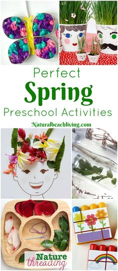 45+ Spring Preschool Activities That Make Everyone Happy - Natural Beach Living