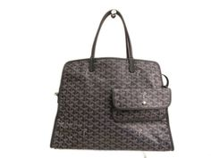 #GOYARD Hardy PM Tote Bag for cat Canvas/Leather Gray (BF089068). #eLADY global accepts returns within 14 days, no matter what the reason! For more pre-owned luxury brand items, visit http://global.elady.com