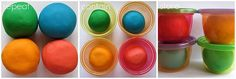 Homemade Playdough - really thorough tutorial with lots of photos.