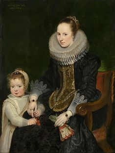 Cornelis de Vos - Mother and child (1624) - Google Art Project (National Gallery of Victoria)