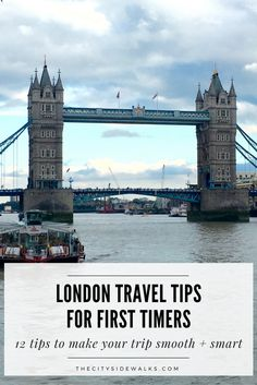 If you're traveling to London for the first time, we've got you covered with 12 tips to make your trip smooth and smart. Check out these London travel tips that will give you insight on how to get around effectively, what you should tip, and other must-know information to prepare you for your visit!