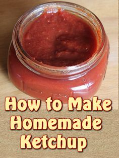 Making your own ketchup is a bit time consuming, but if you do, you will find that the flavor is definitely worth it.  You also have to comfort of knowing exactly what is in it.  Personally I have ...