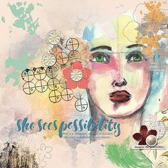 She sees by Jana O with Jen Maddocks designs and her drawing