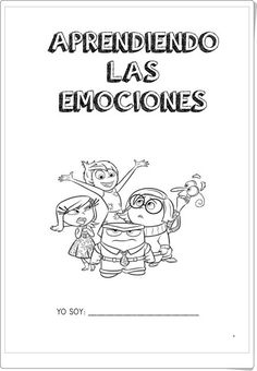 "Cuaderno ""Aprendiendo las emociones 1"" (Educación Emocional de Primaria) Elementary Spanish, Spanish Classroom, Elementary Schools, Spanish Teaching Resources, Mindfulness For Kids, Feelings And Emotions, School Psychology, Emotional Intelligence, School Counseling"