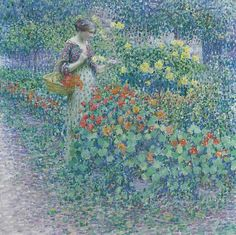 Louis Ritman 1889-1963 American Painter Good Day and Best Regards