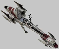 The Biker Advanced Recon Commando (BARC) speeder was a powerful speeder bike model used by the Grand Army of the Republic as a reconnaissance craft during the Clone Wars. It was manufactured by Aratech Repulsor Company. A civilian variant, Police BARC speeder also saw extensive use on Coruscant.