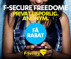 F-Secure Freedome VPN anmeldelse 2020 Anonymous