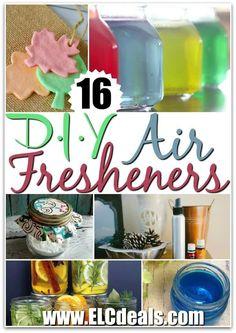 16 DIY Air Fresheners