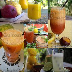 Conheça as Diferenças entre Suco, Néctar e Refresco » Receitas Saudáveis » Guloso e Saudável