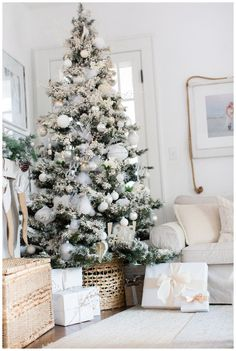 Intentionality {HOME} #christmas #blueandwhitechristmas #flockedtree #christmastree #seasonsofhome #bloggerstylinhometours #seasonsimplicity #christmasinthekitchen #southernliving #cottagehome #romantichomes #betterhomesandgardens #BHGhome Christmas Design, Christmas Tree, Romantic Homes, Craft Night, Better Homes And Gardens, Cottage Homes, Southern Living, Wonderful Time, Amber