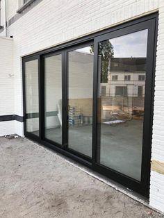 5 Marla House Plan, Steel Frame Doors, Small Balcony Decor, Main Door Design, Apartment Renovation, Back Patio, Back Doors, Patio Doors, Sliding Glass Door