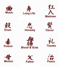 kanji symbol tattoos - Japanese Tattoos - Zimbio