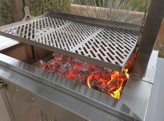 Incredible wood fire -the Kalamazoo Gaucho Grill