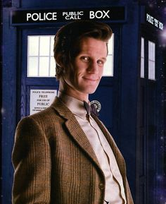 mad man with a box #mattsmith