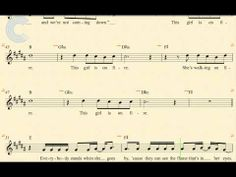 ▶ Tenor Sax - Girl on Fire - Alicia Keys - Sheet Music, Chords, & Vocals - YouTube