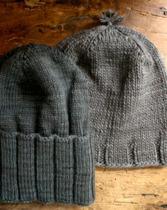 Whit's Knits: Thank You Hats