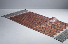 wooden-textile-rug