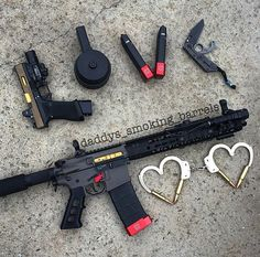 What are you giving your lover on Valentine's Day? How about a Titanium Nitride coating for his / her firearm?