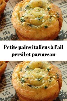 Italian rolls with parsley garlic and parmesan – Page 2 – Good To Know – Famous Last Words No Salt Recipes, Snack Recipes, Italian Rolls, Crepes, Healthy Food Alternatives, Best Sweets, Italian Recipes, Italian Snacks, No Cook Meals