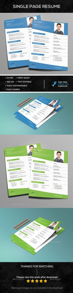 Simple Resume Simple resume, Letter size and A4