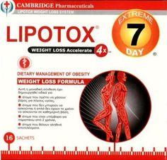 Lipotox Extreme 7 Days Για Την Απώλεια Βάρους 16 σακουλάκια-δόσεις. Μάθετε περισσότερα ΕΔΩ: https://www.pharm24.gr/index.php?main_page=product_info&products_id=4098