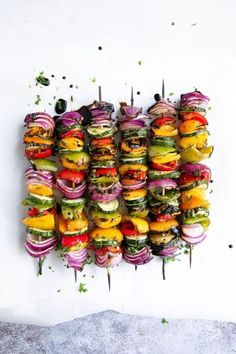 This Is the Ultimate Vegetarian Grilling Guide for SummerYou can find Vegetarian barbecue and more on our website.This Is the Ultimate Vegetarian Grilling Guide for Summer Barbecue Recipes, Grilling Recipes, Cooking Recipes, Healthy Recipes, Barbecue Sauce, Cooking Time, Vegan Barbecue, Healthy Food, Grilled Vegetable Recipes