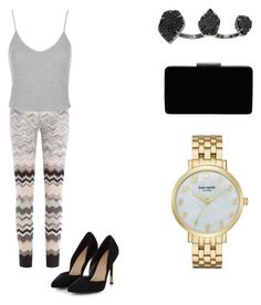 """playing dress up"" by shellandciara on Polyvore featuring Kendra Scott, Missoni, Topshop, John Lewis and Kate Spade"